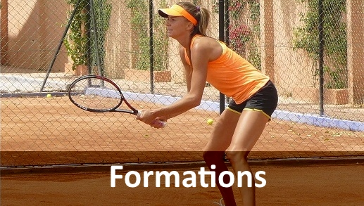 Formations tennis